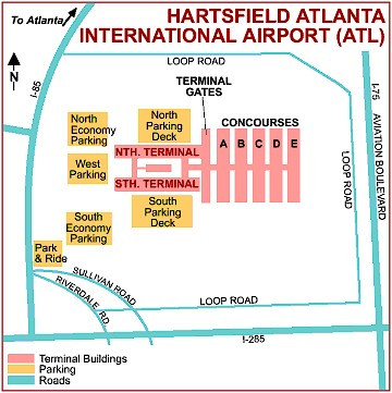 North Terminal Atl Car Parking