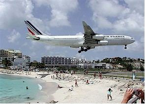 Nice The Princess Juliana International Airport (SXM) (599 545 4211) On St.  Maartenu0027s Side Of The Island Offers Non Stop Flights From The United  States, ...